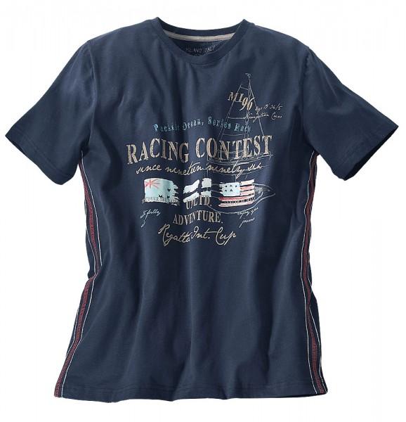 Rundhals-T-Shirt mit Druck