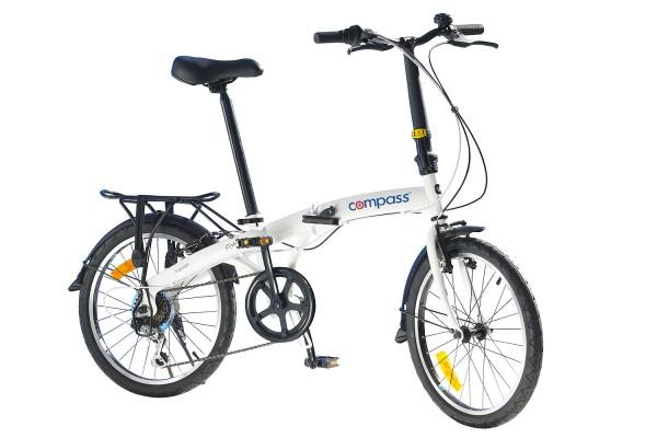 Rower składany z kompasem 20 cali