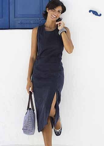 Serafini Leinen-Kleid
