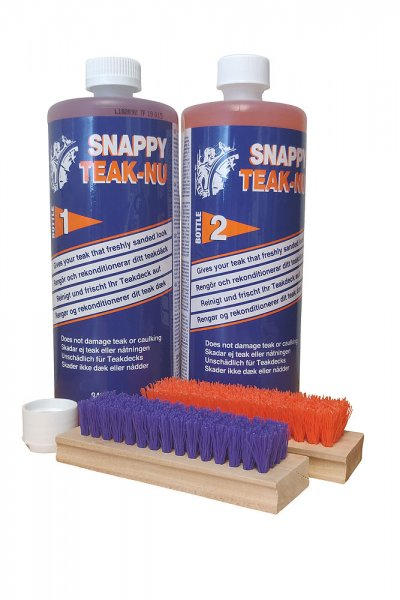 Snappy Teak Nu-Kit-Part 1&2 Teakpflege