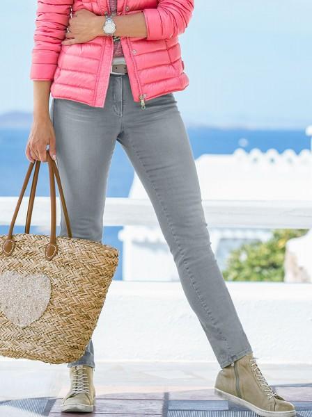 bianca Jeans mit Nieten