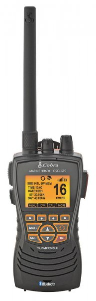 Cobra MRHH600 Handfunk GPS/DSC