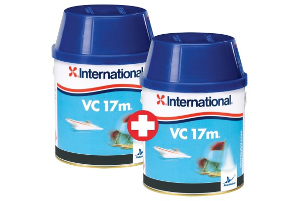 Sparen Sie im Set! 2x International VC 17m 0,75 l graphit