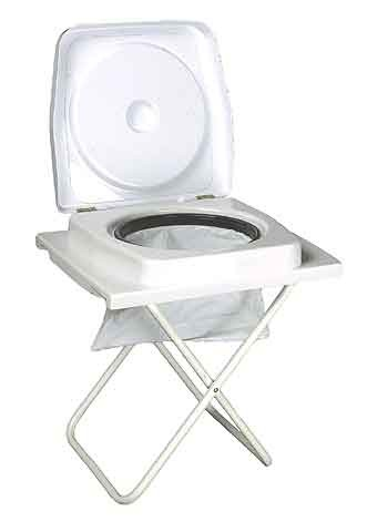 Folding Travel Toilet