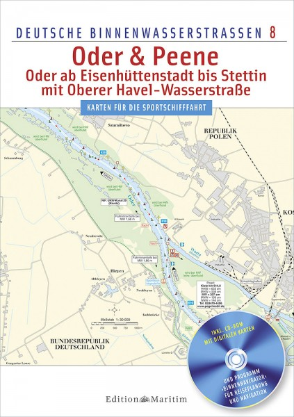 Deutsche Binnenwasserstraßen 8: Oder & Peene