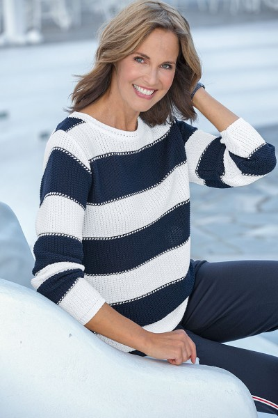 Sea & Harbour Streifenpullover