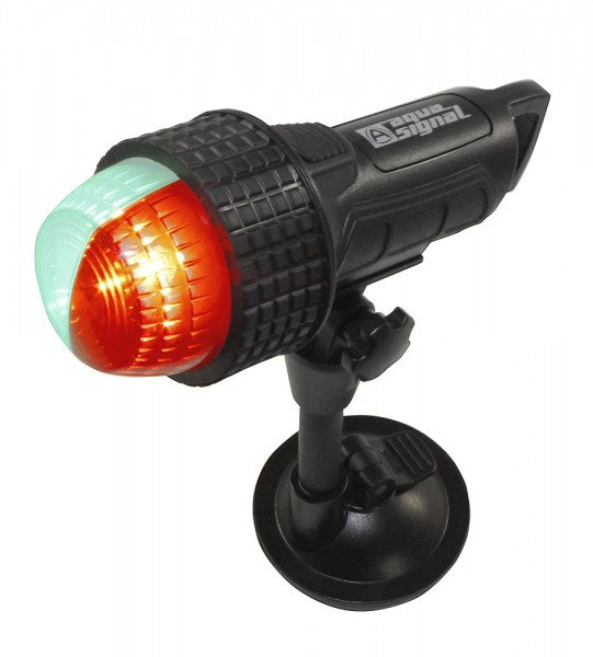 Series 27 bi-colour signal light with suction pad