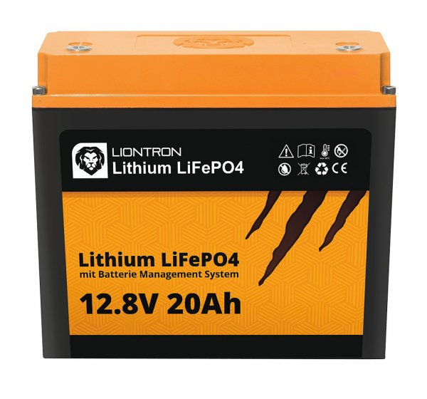 Liontron LiFePO4 Batterie inkl. Batterie Management System