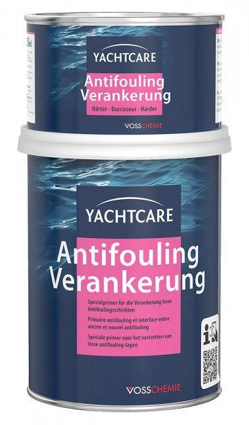 YachtCare Antifouling Verankerung