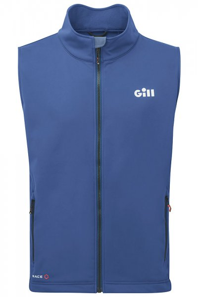 Gill Race soft shell vest