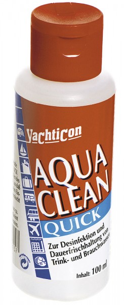 Koncentrat do uzdatniania wody z chlorem – Yachticon Aqua Clean Quick