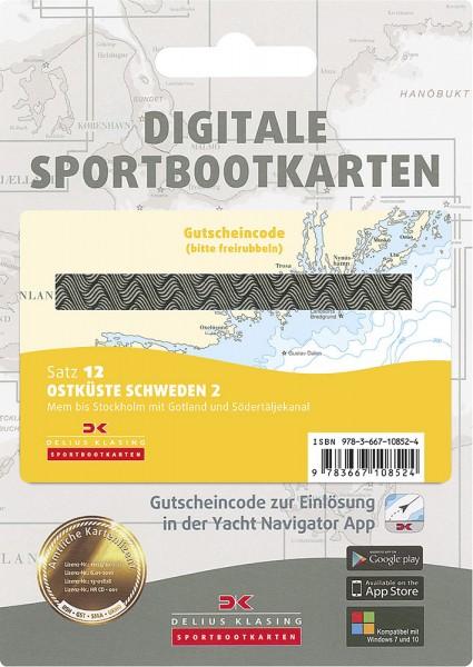 Digitale Sportbootkarte Satz 12