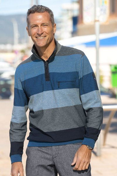 Hajo Streifensweater
