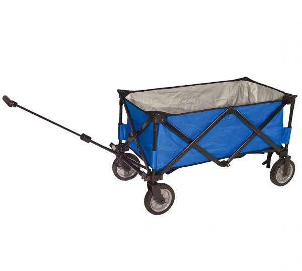 Foldable compass trolley