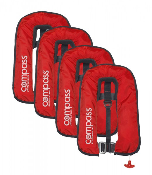SET 4x Compass 300N Weste ISO