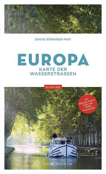 Europa Karten der Wasserstr.