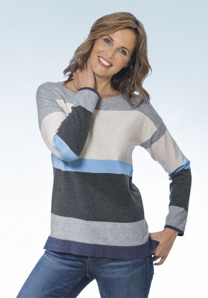 Pullover, Colorblocking