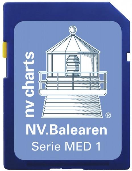 NV Baleary SD/microSD, Serie MED1