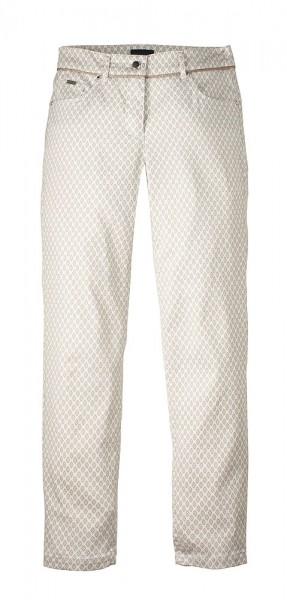 Serafini 7/8-Hose Krawattenprint