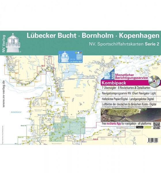 NV Lübecker Bucht Bornholm Kopenhagen