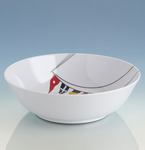 Regatta series boat crockery: soup plate (18 cm)