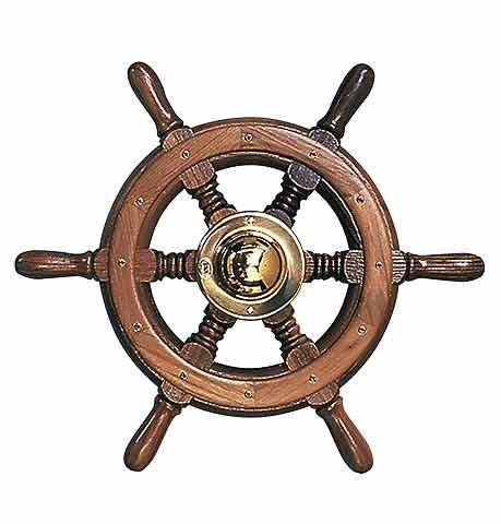 Steering Wheel Mahogany