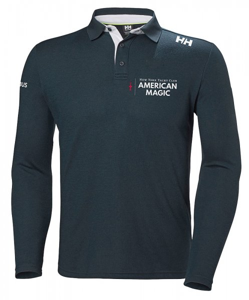 American Magic Skagen Langarm-Poloshirt