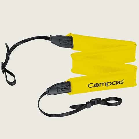 Compass floating strap