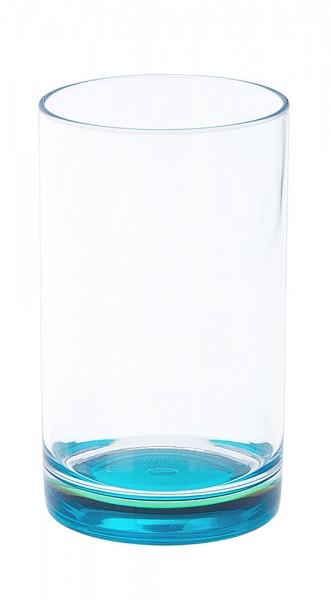 Gimex Trinkglas mit farbigem Boden