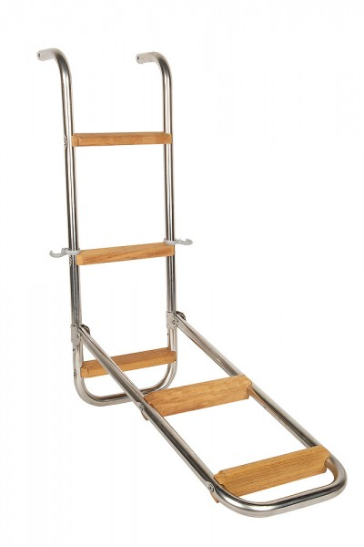 Bathing Ladder with wooden rungs