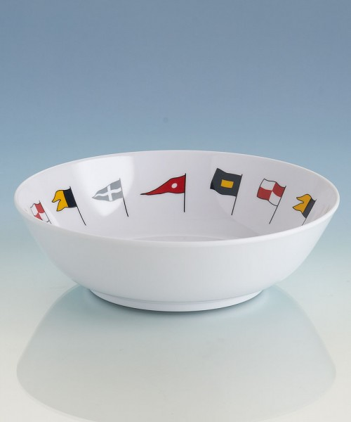 Regatta series boat crockery: bowl (14 cm)