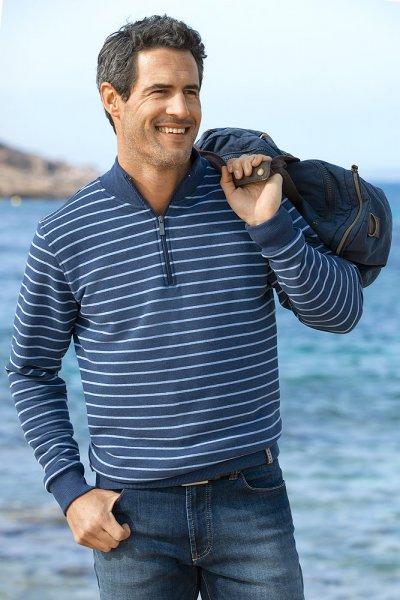 Kitaro Streifensweater