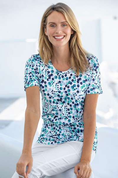 Tupfen-Shirt