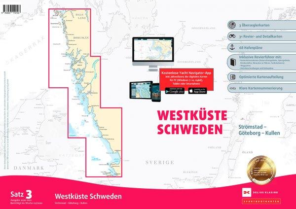 Delius Klasing Satz 3: Westküste Schweden Strömstad bis Kullen