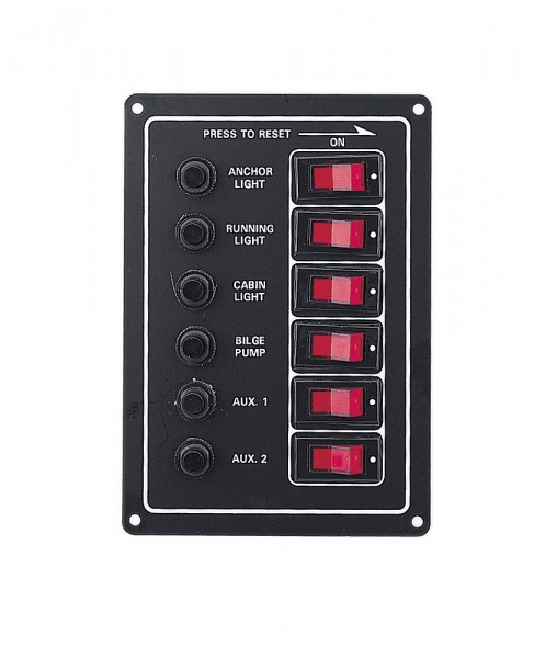 Panel z 6 przełącznikami – Compass