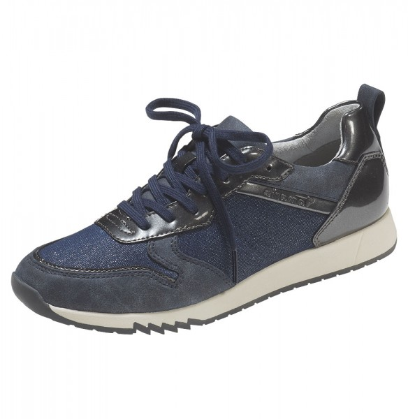 Sneaker in Denim-Optik