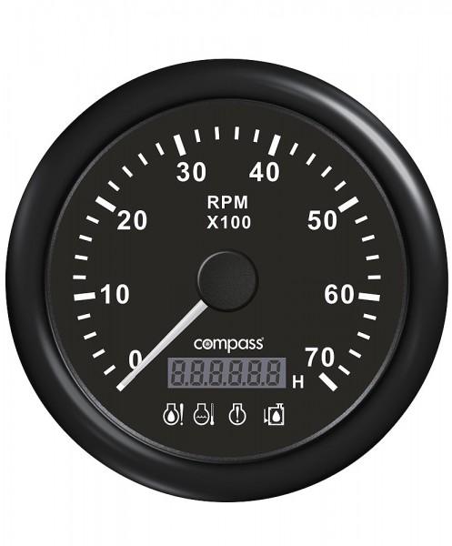 Obrotomierz z alarmem i wyświetlaczem LED – Compass