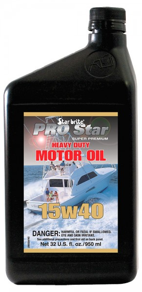Starbrite® Pro Star Super Premium Heavy Duty Motor Oil SAE 15W 40