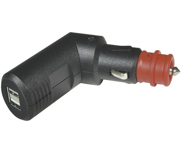 USB Doppelladestecker 12 / 24 V