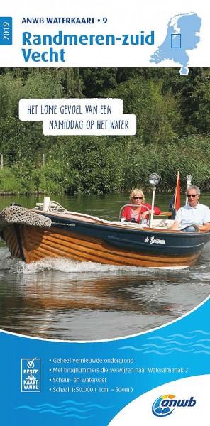 ANWB Waterkaart #9 Randmeren Zuid / Vecht