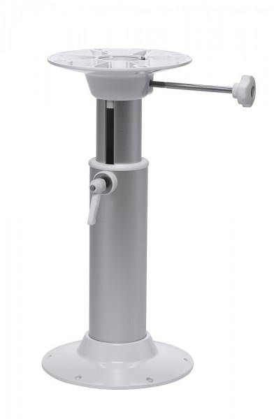 Revolving telescopic pedestal for helmsman's seat