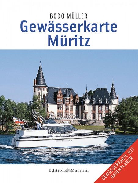 Bodo Müller: Gewässerkarte Müritz