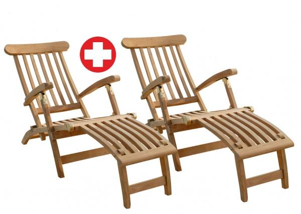 Zestaw 2 krzeseł pokładowych