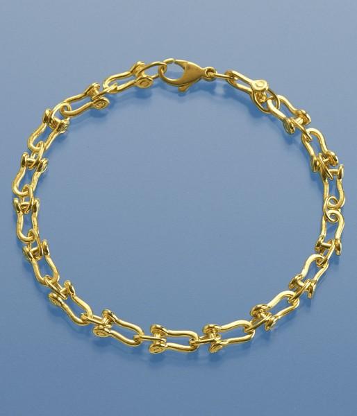 Armband für Sie 18,5cm Schäkeloptik