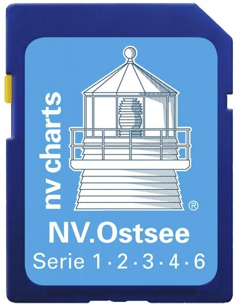 NV Morze bałtyckie SD/microSD, Serie 1-4,6