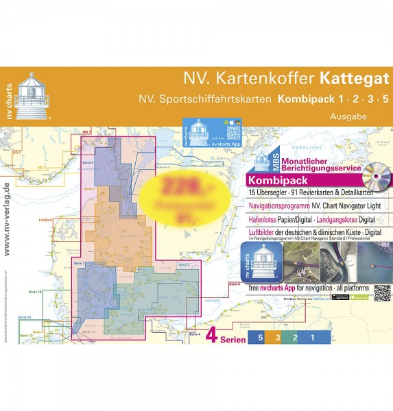 NV Seekartenkoffer Kattegat