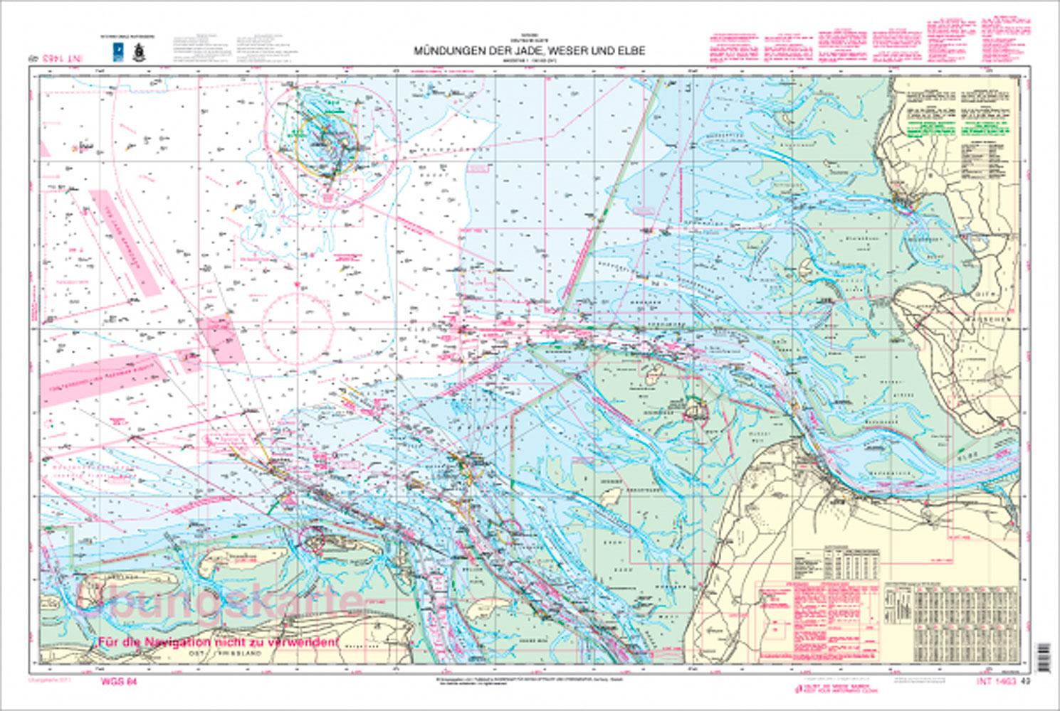 Digitale Sportbootkarte D49 U Klassische Seekarten Seekarten