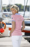 Régates Royales Helena Damen-Poloshirt rose D: XS
