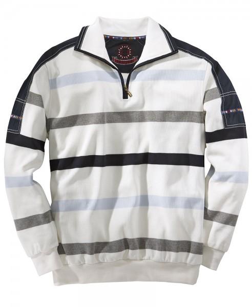 Capt.Scott Streifen-Sweatshirt in maritimen Stil