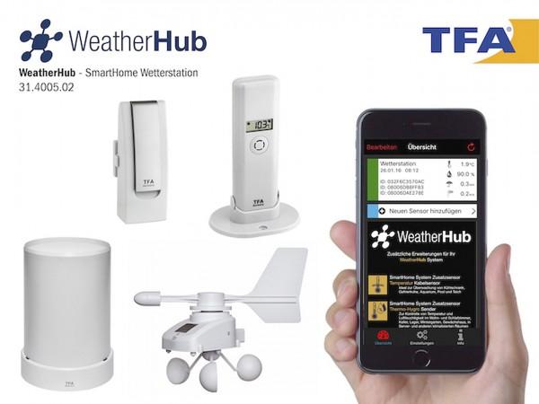 WeatherHub SmartHome Wetterstation
